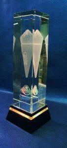 Crystal 3D 18x5x5 cm