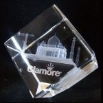 Cube 3D Crystal  KN 023