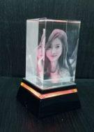 Crystal Model KN 02 – 5x5x8 cm