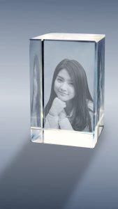 Crystal 3D foto KN 02 -Potrait