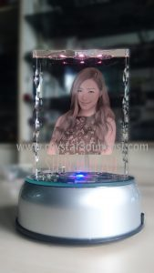 crystal 3D photo KN 043 Gelombang