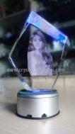 Crystal 3D photo piramid KN 083