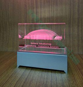Souvenir crystal 3D