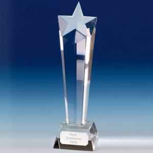 Trophy Crystal Star