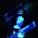 3D Crystal Cube  KN 023 – Foto dalam crystal