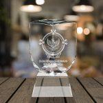 Trophy Crystal  KN – Three Angle